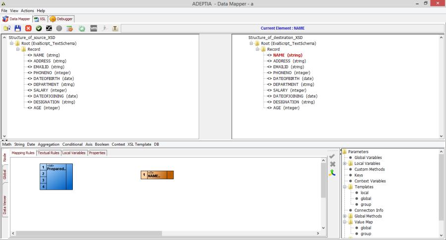 Using DB Function - Adeptia Suite Help - Adeptia Docs