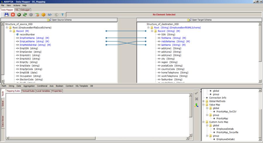 Using XSL Template - Adeptia Suite Help - Adeptia Docs