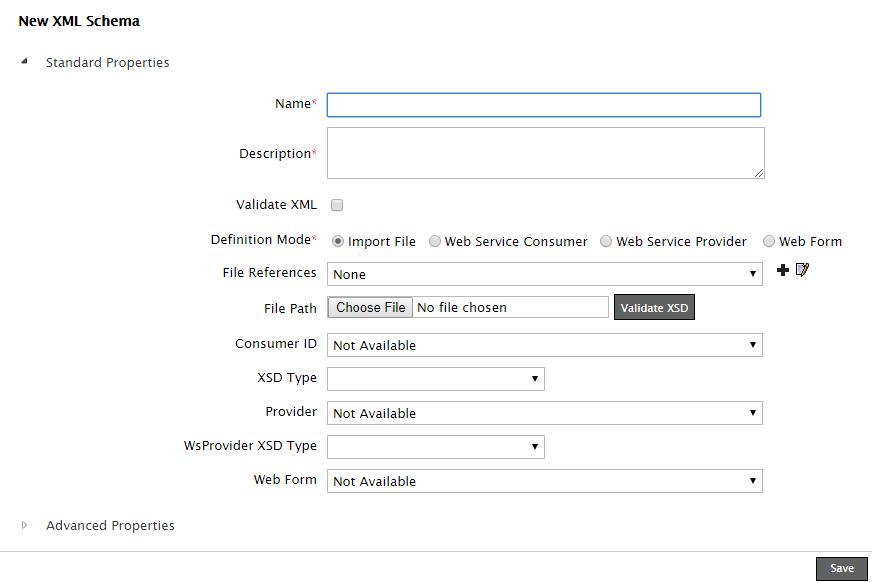 Creating xml schema activity adeptia suite help adeptia docs on the new xml schema window type the name and description for new xml schema in the name and description publicscrutiny Gallery